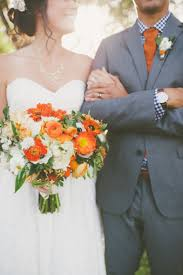 Backyard Wedding Ideas For Fall Coral And White Fall Wedding Bouquet For Bold Autumn Backyard