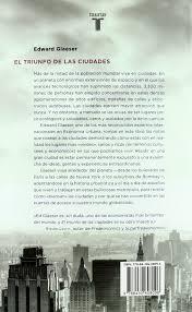 el triunfo de las ciudades cómo nuestra gran creación nos hace