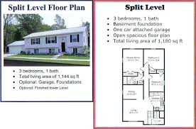 bi level house plans with attached garage split level home floor plans yuinoukin