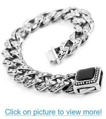 mens stainless steel chain bracelet images 245 best mens jewelry images men 39 s jewelry male jpg