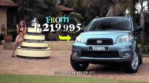 daihatsu terios 2000 daihatsu terios stripper commercial youtube