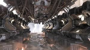 what are house wind0ws made 0ut of scifi corridor 3d luke wilkins