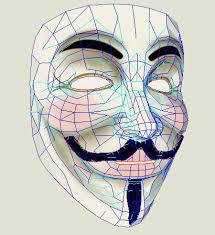 V For Vendetta Mask V For Vendetta Guy Fawkes Paper Mask Paperkraft Net Free