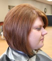 hairstyles for round faces back view layered bob haircuts for