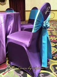 purple chair covers chicago chair covers for rental in purple in the stretch fabric