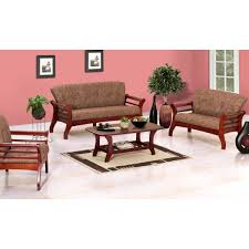 Wooden Sofa Set Images Baywood 3 1 1 Seater Wooden Sofas Living Room Damro
