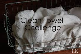 pinterest challenge day 2 clean towels unexpected elegance