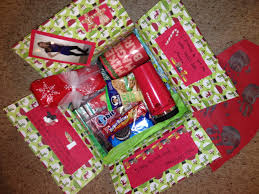 christmas care package care packages pinterest