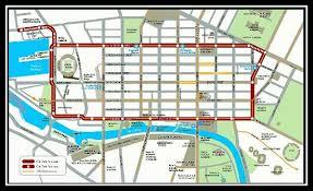 melbourne tram map map picture of city circle tram melbourne tripadvisor
