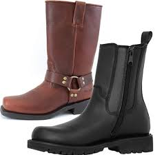 mens leather riding boots for sale men s leather motorcycle boots