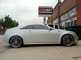 cadillac cts coupe rims cts coupe with lorenzo wheels no limit inc