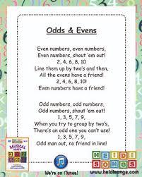 5 ways to teach odd u0026 even numbers heidi songs