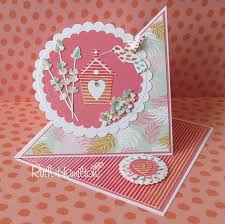 a passion for cards how to make a twisted easel card with