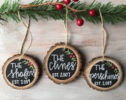rustic ornaments etsy