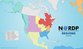 Pacific Region Map Nordp Regions