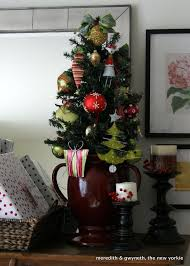 mobile home interior walls small pink christmas tree white and