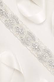 wedding dresses belts bridal sashes wedding dress belts david s bridal