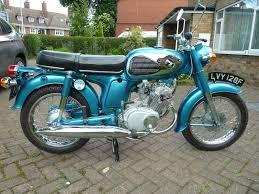 restored honda cd175 1967 photographs at classic bikes restored