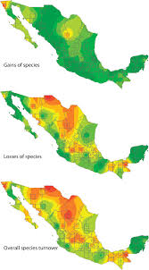 World Temperature Map by Temperature A Dominant Influence On Bird Diversity Loss In Mexico