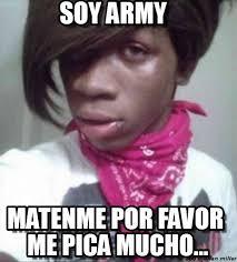 Emo Meme - soy army emo negro meme on memegen