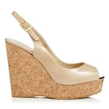 designer wedges premium cork wedge shoes u0026 sandals jimmy choo