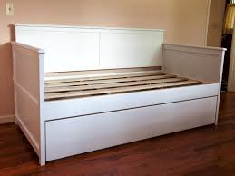 White Trundle Daybed White Wooden Daybed With Trundle Home Designs Insight The Best