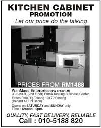Kitchen Cabinet Penang Kitchen Cabinets Ideas Kitchen Cabinet Promotion Inspiring
