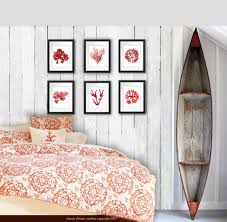 wall decor posters vintage seaweed wall decor prints beach style