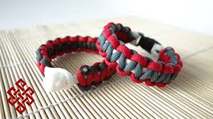 cobra knot bracelet images How to make a cobra knot solomon knot paracord bracelet tutorial jpg