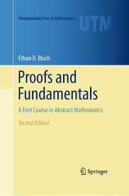 proofs and fundamentals ethan d bloch