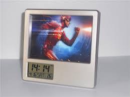 2017 new justice league flash creative digital alarm clock multi