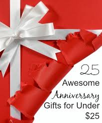 wedding anniversary gifts 25 awesome anniversary gift ideas for 25 happy club