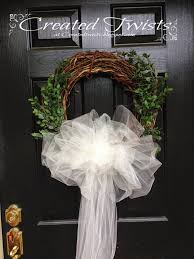 wedding wreath created twists wedding wreaths