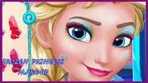 frozen princess games frozen prom makeup design s make up games