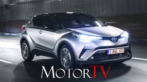 crossover toyota crossover new 2017 toyota c hr 1 2 turbo 116 hp driving