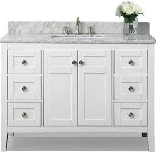 bathroom incredible fresca fvn8013go opulento 54 inch white modern