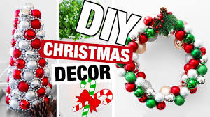 diy christmas decor 2017 fun diy holiday decorations youtube