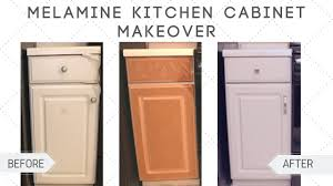 what paint to use on melamine kitchen cabinets makeover how to paint melamine kitchen cabinets diy