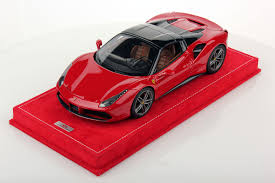 ferrari j50 ferrari 488 spider hard top 1 18 mr collection models