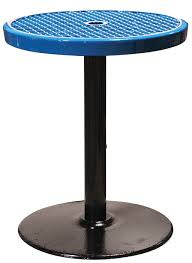24 round pedestal table 24 round expanded pedestal table 30 h expanded picnic tables