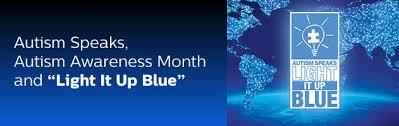 autism speaks light it up blue autism speaks autism awareness month and light it up blue
