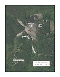 Ouachita Mountains Map Ouachita National Forest Cedar Lake Recreation Area