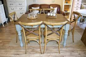 Blue Dining Set by Farmhouse Blue Dining Set The Workshop