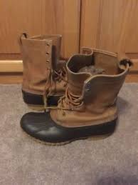 ll bean duck boots womens size 9 ll bean vintage womens 8 eye duck boots 10 brown size 9 m ebay