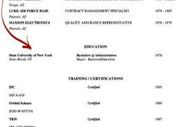 Sample Resume Education Section by Sample Resume With Certification Section Reentrycorps