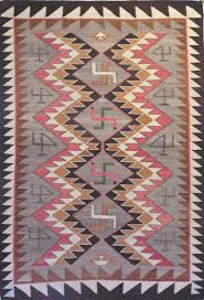 Tag Rugs Navajo Rug Whirling Logs With Original Tag 1905 Collectors