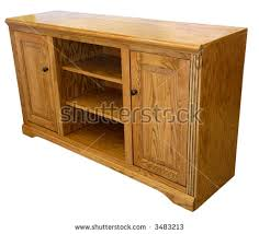 Tv Storage Cabinet Light Oak High Definition Tv Storage Stock Photo 3483213
