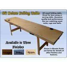 Beer Pong Table Size Folding Beer Pong Table