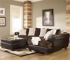 Brown Sectional Sofa With Chaise Ashley Furniture Sectional Microfiber Interior Design