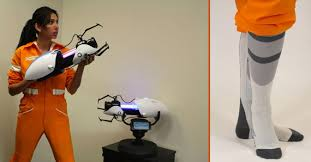 portal jumpsuit portal 2 gun replicas and jumpsuits the best thing to